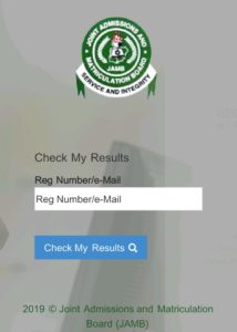 Check JAMB result 219