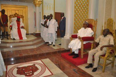 Benin Oba palace