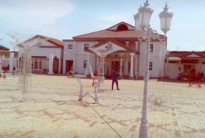 Benin modern palace