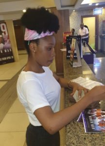 Booking tickets at flimhouse cinemas benin